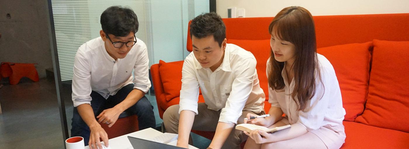 Seoul Korea office photo