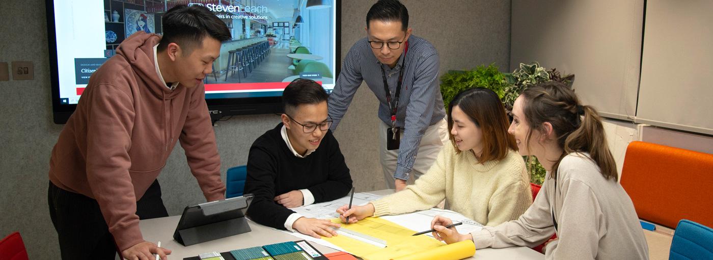 Steven Leach Hong Kong office photo