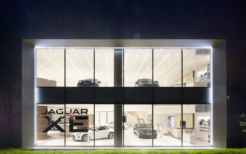 Jaguar Land Rover Showroom