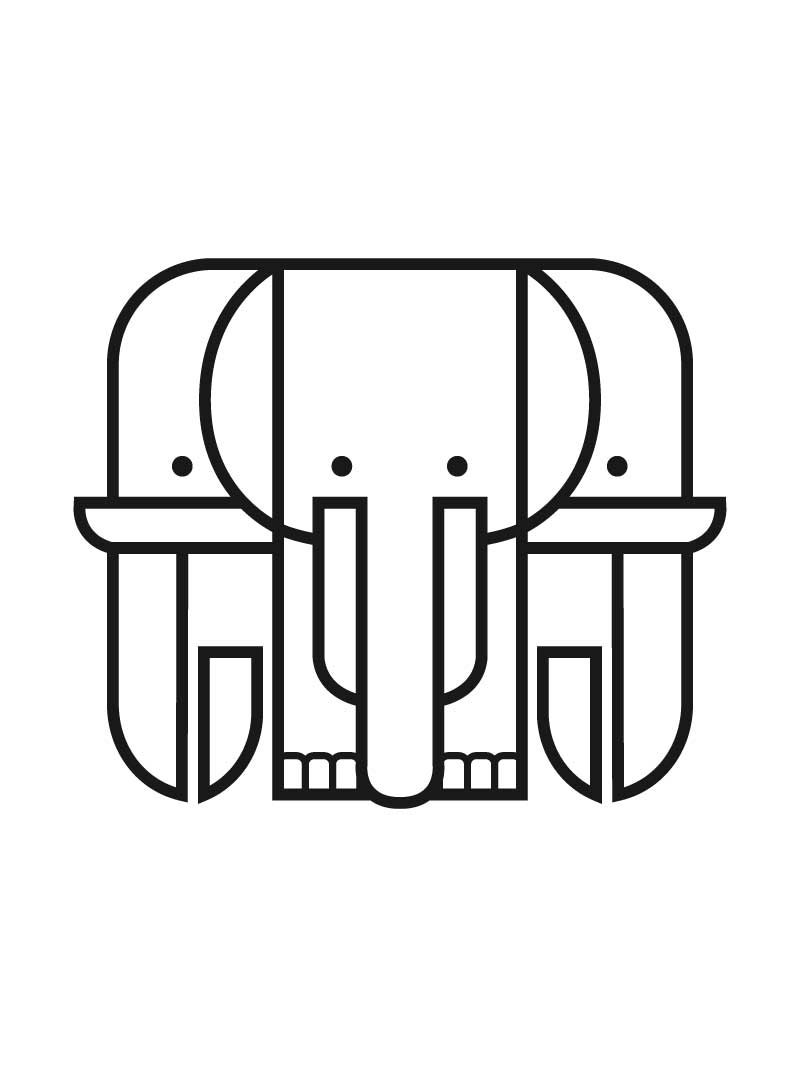 Our elephant logo