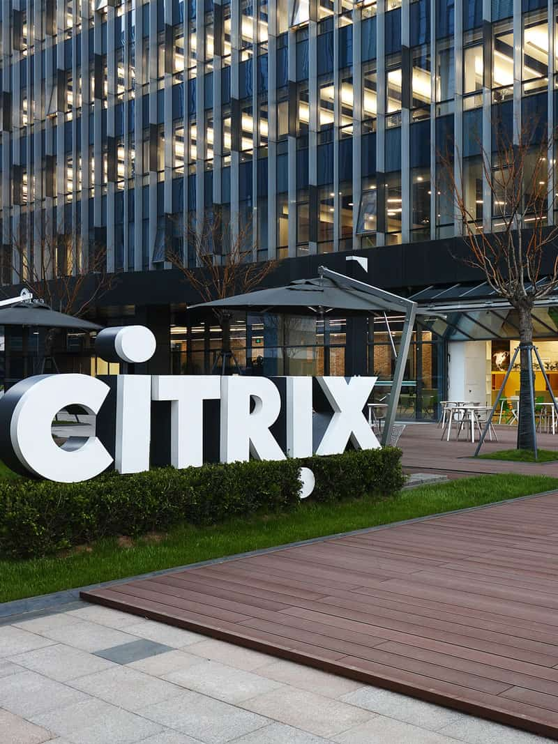 Steven Leach Group designed Citrix Systems' new office in Nanjing, China, featured by Office Concept.