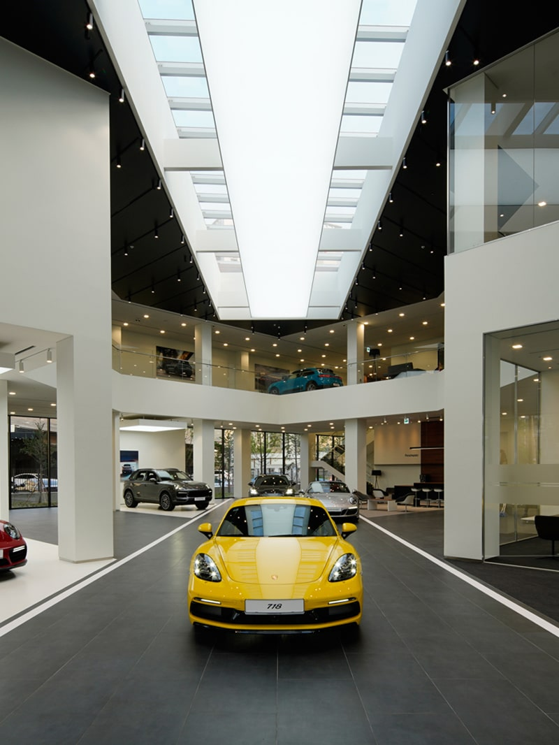 The New Destination Porsche in Korea